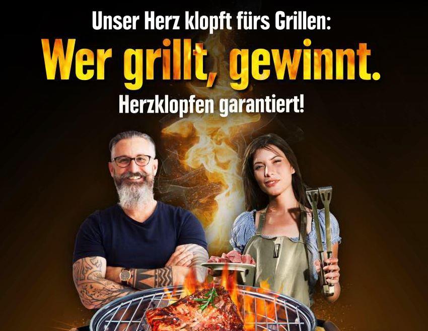 Wer grillt, gewinnt!