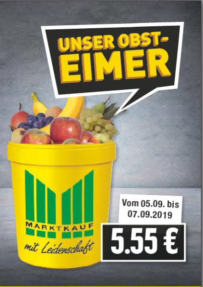 Obsteimer – NEU 5,55 EUR (05.09.-07.09.2019)