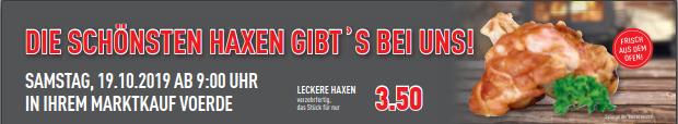 Greifen Sie zu! – Samstag – Haxen für nur 3,50 EUR